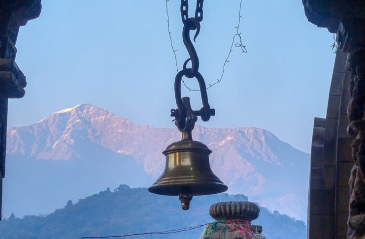 Bell in Lord Shiva Temple - Baijnath