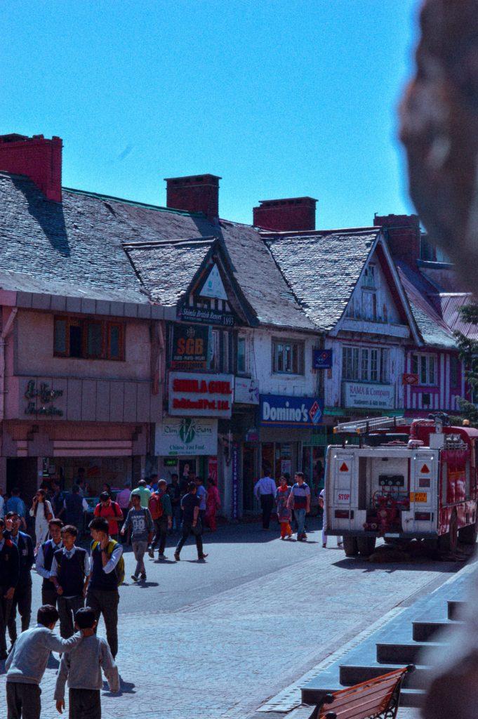 The-Ridge-mall-road-shimla