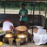 cooking kangri dham