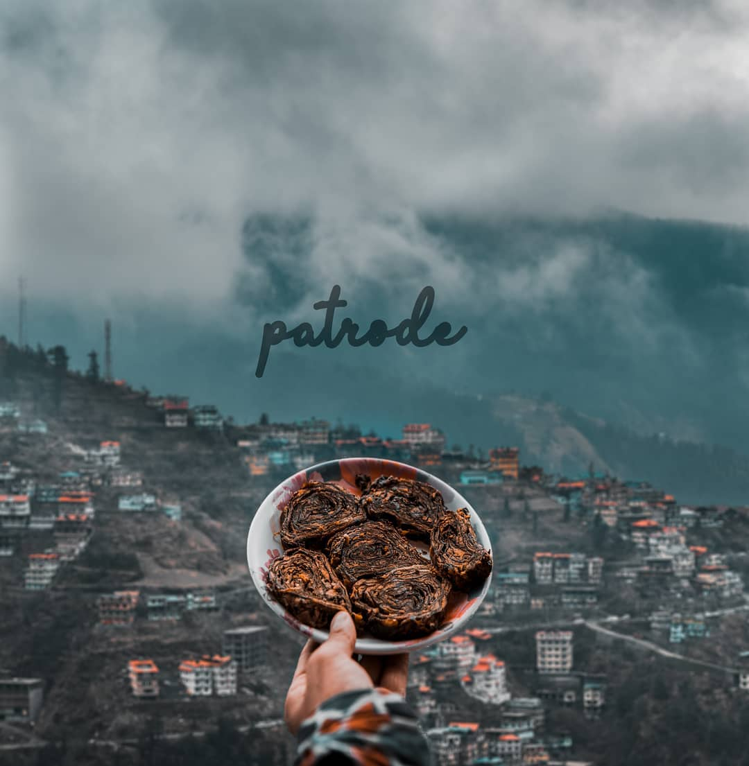Patrode - Himachali Dish
