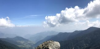 Breathtaking Views on way to Churdhar