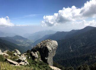 Breathtaking Views on way to Churdhar