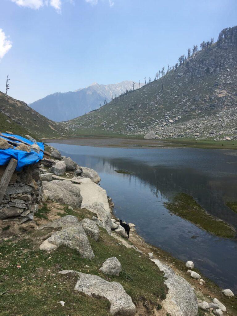 kareri lake-being pahadia